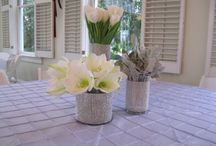 Whitlock in Open House by Carithers / Open house centerpiece designs.