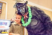 2014 Naples Chamber of Commerce Trade Show / Thanks for posing with our Over 2 Social gorilla at the Trade Show last week! We hope you had as much fun as we did. What a great experience!
