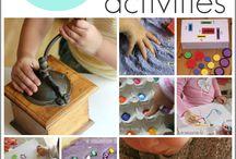 pre school development activities