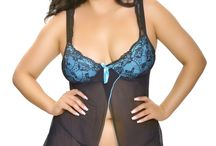 Popsi Lingerie Plus Size Babydolls / Lingerie for women who have and love their curves