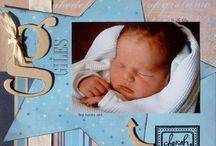 Scrapbioking - baby pages