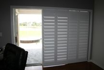 Sliding Door Blind Ideas / by Lauren Igawa