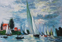 Impressionism / Creating a lesson for 6th graders using impressionistic painters (especially Claude Monet) as our inspiration. Collecting seascapes and photographs of Puget Sound, the San Juans, and maybe even Lake Washington. Trying to tie the style into regional settings. / by Alicia Buck