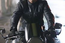 MADS/HANNIBAL - HOT IN BLACK LEATHER - WOW!!