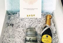 Bridesmaid & weddings party gifts