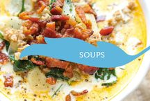 Soups / Yummy recipes for soups this winter and fall.