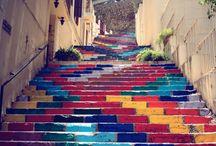 going up / by Ciaran Blumenfeld