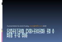New Media Talk 基督教新媒體研討 / 收集不同機構透過新媒體YouTube、Vimeo及SlideShare作分享的新媒體講座、訪問、研討影片及簡報等資料,以供參考。  有興趣的弟兄姊妹可瀏覽「基督教新媒體運動講座」網站(http://NewMediaTalk.cc)這個一站式平台,當中內容按講者、主辦單位及時間等不同方式歸類,提供便捷搜尋功能,方便弟兄姊妹了解新媒體對福音與牧養工作的影響。 / by 基督教新媒體運動