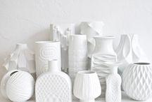 Porcelain, ceramics...