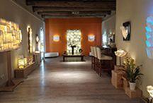 A Marseille, la Céramiste d'Art et de Lumière / La Galerie-Show-room de Stéphanie Titus