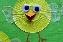 Easter crafts  / Εaster crafts for school | Πασχαλινές δημιουργίες για το σχολείο / by Popi-it.gr