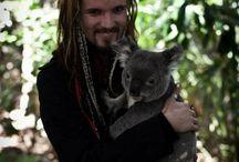 Perttu z misiem koala