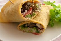 Recipes - Wrap experimentation