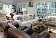 Living room arrangements / by Tina B.
