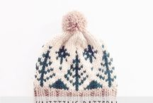 Knit hat project