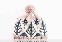 Knit hat project