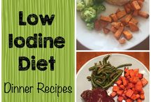 jodfattig mat/Low Iodine Diet