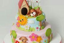 çocuklara pasta