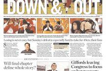 Newspaper layout / by Rachel Goff