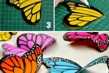 Vlinders / plaatjes, ideetjes etc met vlinders