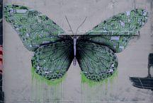 Butterflies and roses / GCSE Art Unit support work