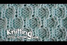 Уроки и схемы вязания