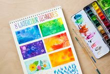watercolor painting tips and ideas