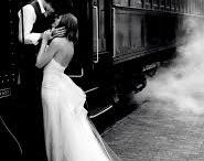 Wedding Photography at train station