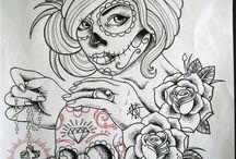 skull mexicana