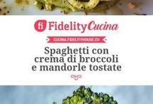 Spaghetti Crema di broccoli
