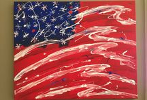 Flag art / by Glenda Hopkins