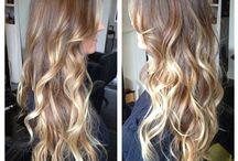 Coló de  cabello