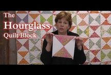 Quilt blocks-Hourglass