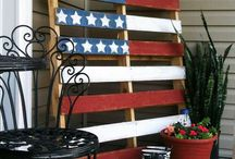 Flag made with Pallet / by Alegria
