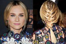 Blond Champagne Hairspiration / The most fashionable braids around.