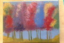 Acrylmålning
