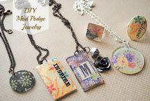 modge podge jewelry ideas
