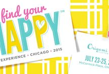 O2 Find Your Happy 2015 / Annual Convention of Origami Owl Designers; at McCormick Place in Chicago, Illinois.