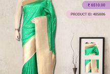 Tussar Silk Sarees / Tussar silk takes up colours quite easily due to its rich texture and the final product is a saree with a rich, deep hue with a natural shine. Buy Tussar Silk Sarees online in India at http://www.vijayalakshmisilks.com/sarees/tussar-sarees-online