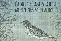 musterkitz - Sprüche und Zitate / Weise Worte rund ums Nähen, Stoff und die Kreativität