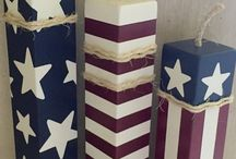 Red,White,and Blue Crafts