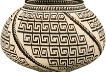 Baskets / Baskets and irresistible to me! when I go to market, I use my Indian market basket from South Africa. I particularly love Zulu baskets.