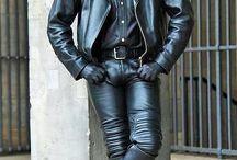 Men leather