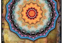 Mandalas / Beautiful symmetry.
