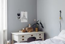 HOME colour grey / Colour / color has the power to convey mood and effect emotion: GREY brings a quietness to the home, a stylish backdrop for other colours; a warm alternative to white ....it is the modest hand-holder of the brighter spectrum.