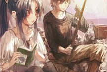 Kaname and Sousuke