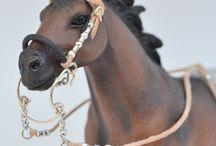 Horses figures/figurki koni ♥