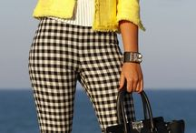 Pants with squares