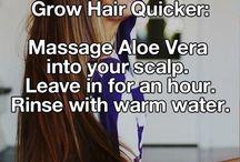 Grow hair quicker