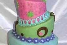 birthday cakes / by Lori Christopherson